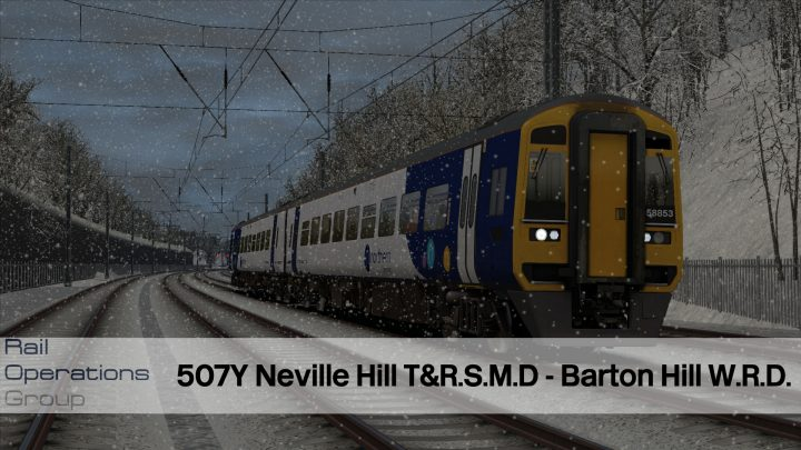 507Y Neville Hill T&R.S.M.D. – Bristol Barton Hill W.R.D.