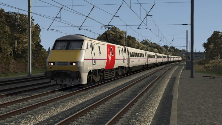 Ex-East Coast (Virgin Trains East Coast) Class 91/Mk4 Reskin