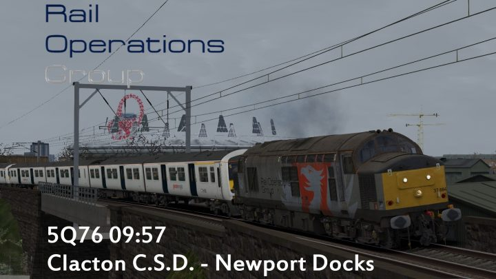 5Q76 09:57 Clacton C.S.D. – Newport Docks