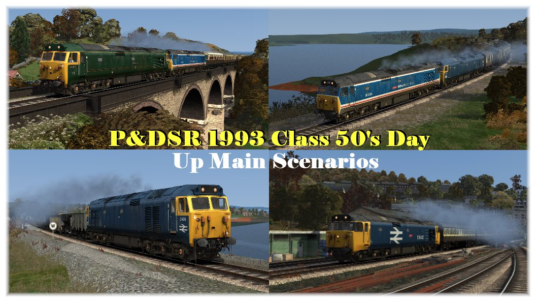 P&DSR 1993 Class 50's Day