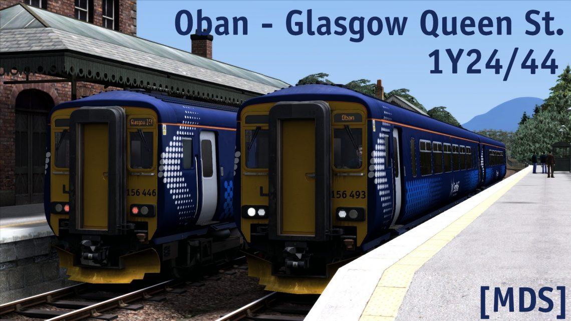 [MDS] 1Y24 12:11 Oban – Glasgow Queen St.
