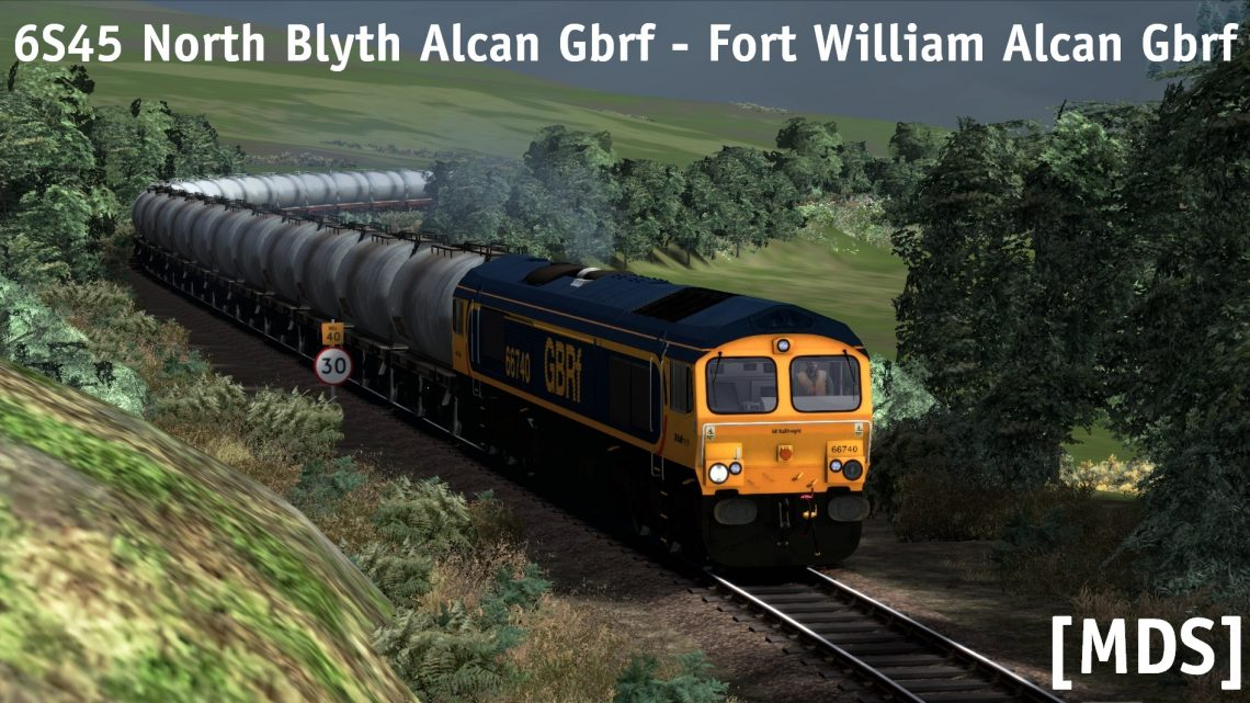 [MDS] 6S45 06:25 North Blyth Alcan Gbrf – Fort William Alcan Gbrf
