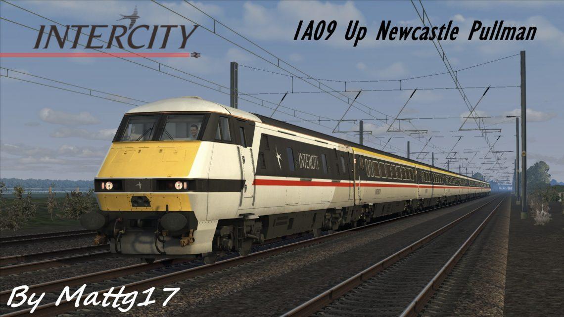 1A09 Up Newcastle Pullman (1993)