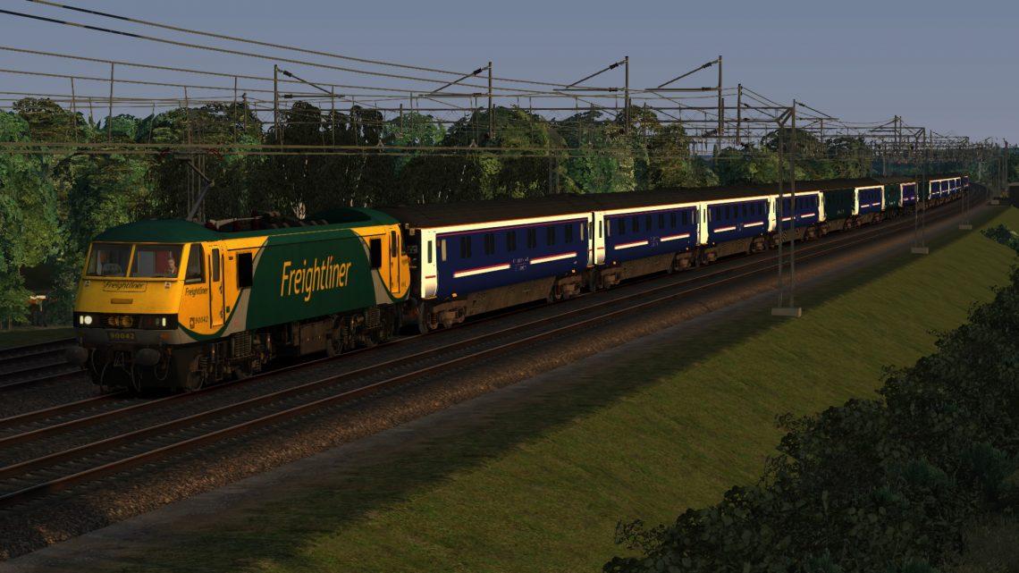 1M16 20:45 Inverness, Aberdeen & Fort William – London Euston