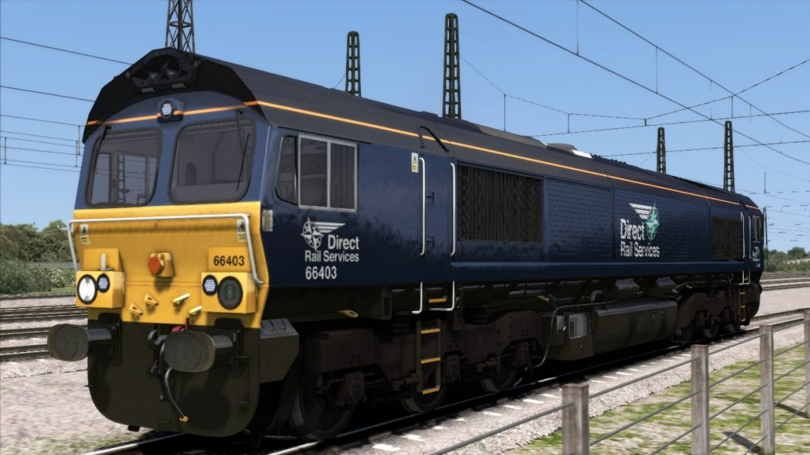 Direct Rail Services Class 66 (Revised Livery 66401-66420)