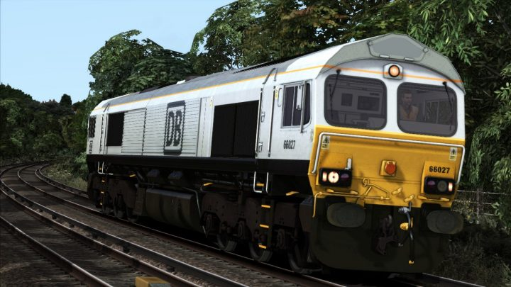 DB Silver Class 66 (Fictional Livery)