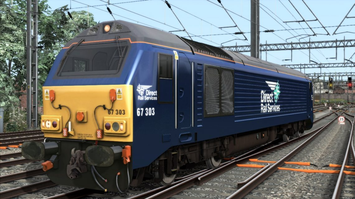 Direct Rail Services Class 67 (Fictional Livery)