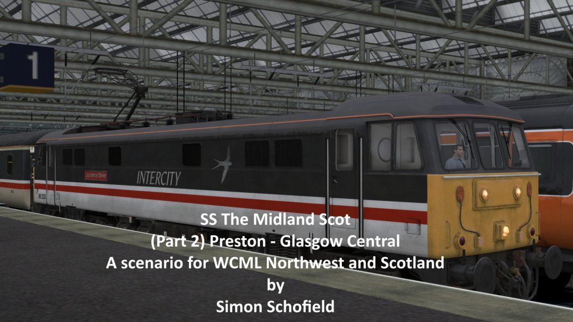 SS 1S46 The Midland Scot (Part 2) Preston to Glasgow Central