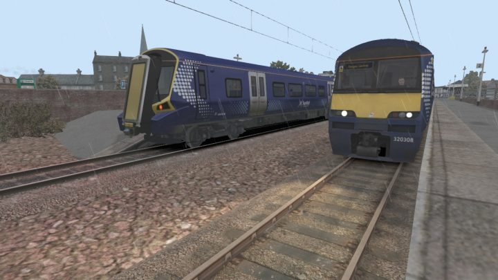 2B73 Larnark to Glasgow Central