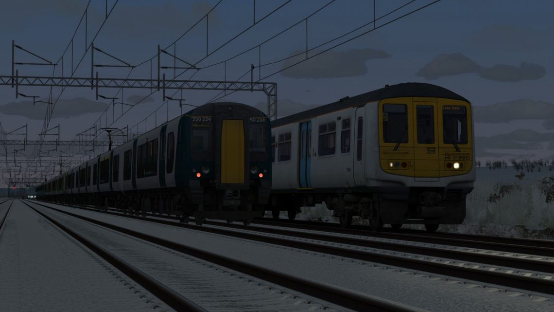2K06 0648 Milton Keynes Central to London Euston
