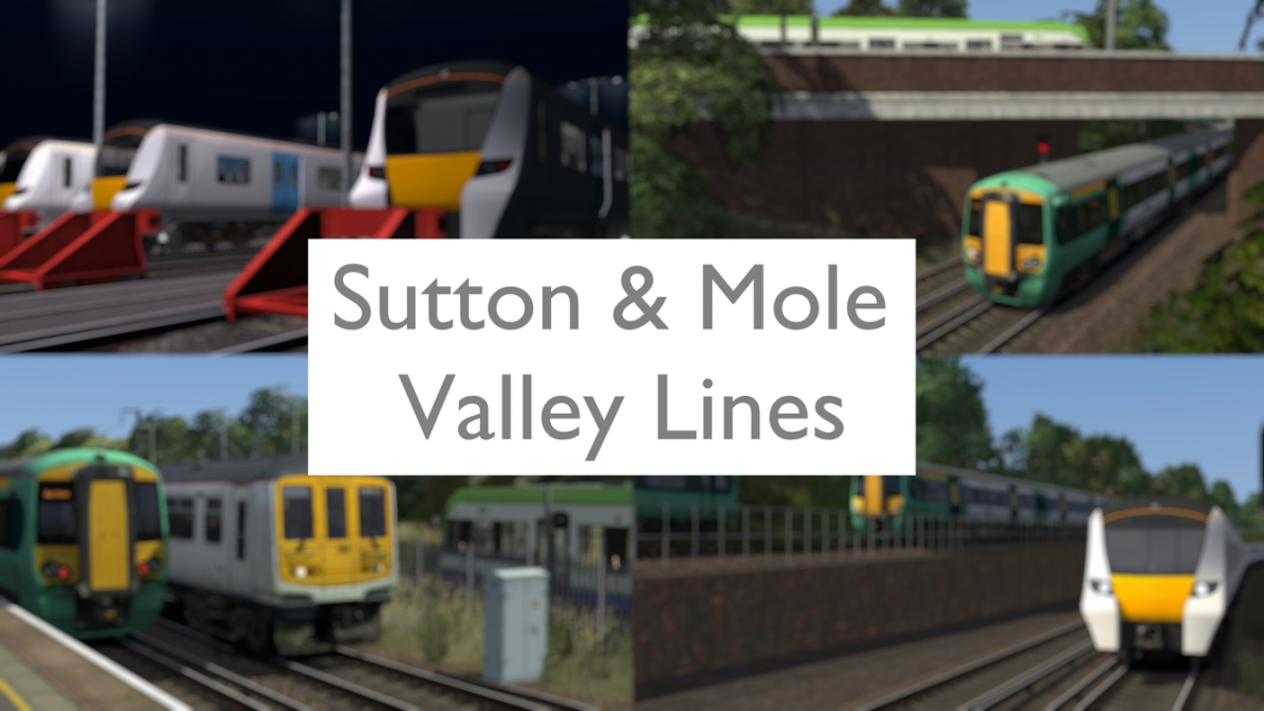 The Sutton and Mole Valley Line V2.1 (W.I.P)