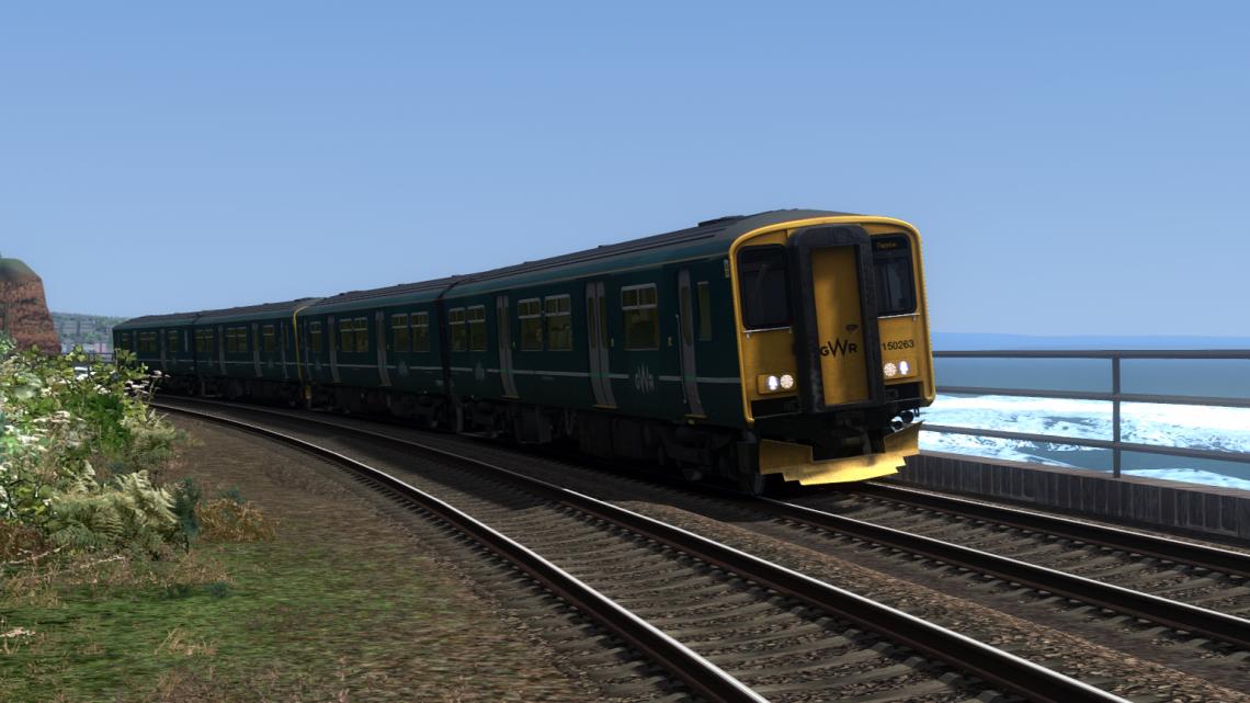 2T12 09:42 Exeter St David's to Paignton