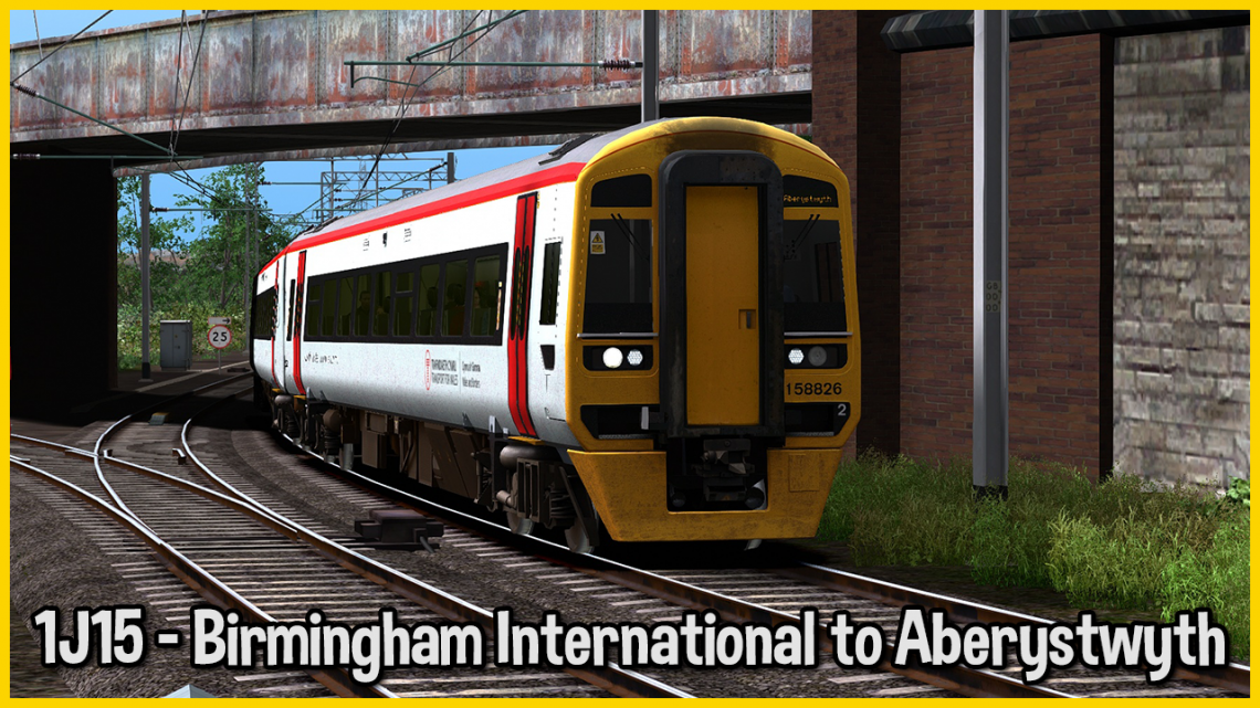 [GS] 1J15 – Birmingham International to Aberystwyth
