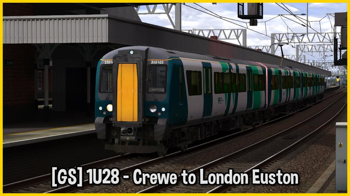 [GS] 1U28 – Crewe to London Euston