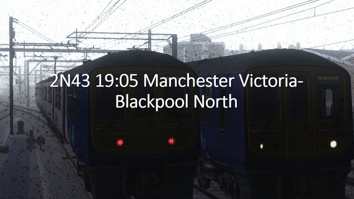 [HM] 2N43 19:05 Manchester Victoria-Blackpool North