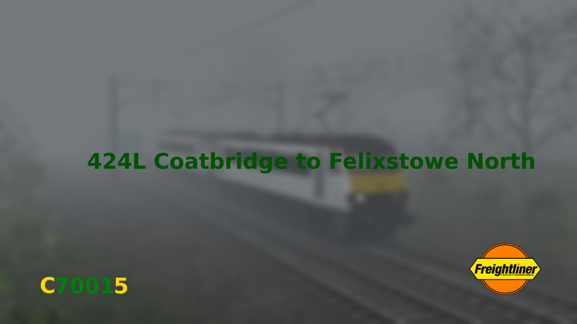 424L Coatbridge to Felixstowe North