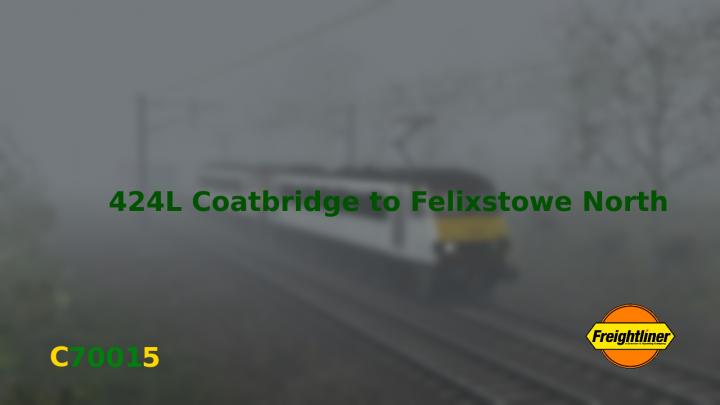 424L Coatbridge to Felixstowe North