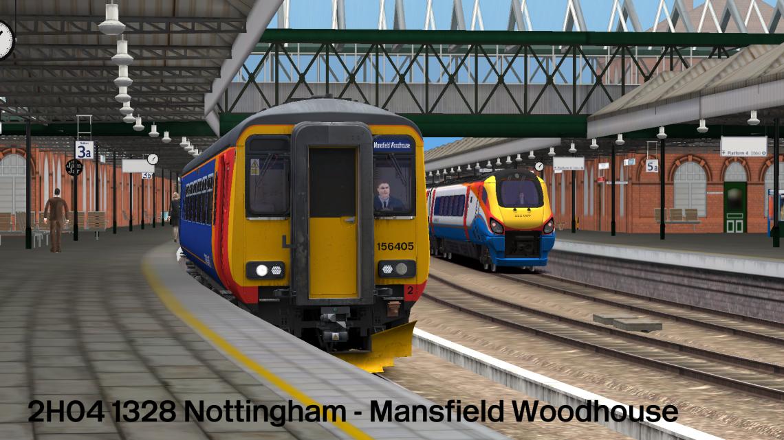 2H04 1328 Nottingham – Mansfield Woodhouse