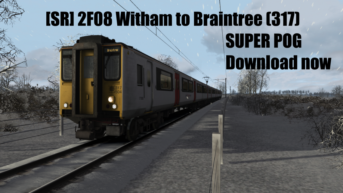 [SR] 2F08 Witham to Braintree (317)