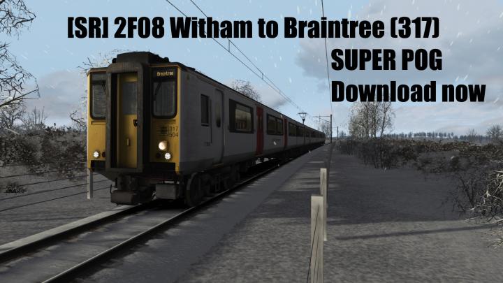 [SR] 2F08 Witham to Braintree (317)