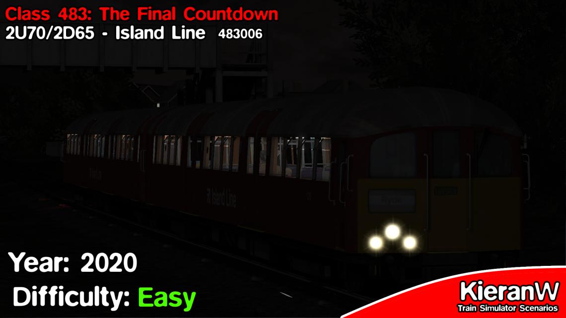 [KTD] Class 483: The Final Countdown | 2U70 2238 Shanklin to Ryde Pier Head & 2D65 2315 Ryde Pier Head to Ryde St Johns Road