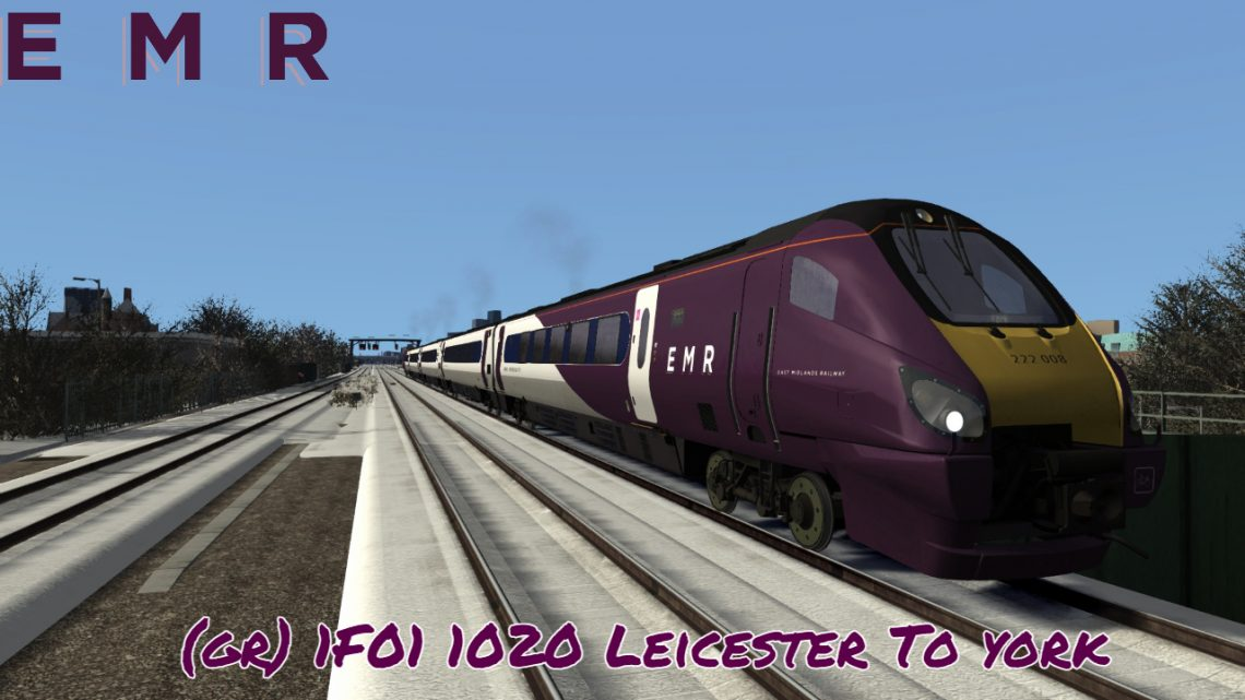 (GR) 1F01 1020 Leicester To York