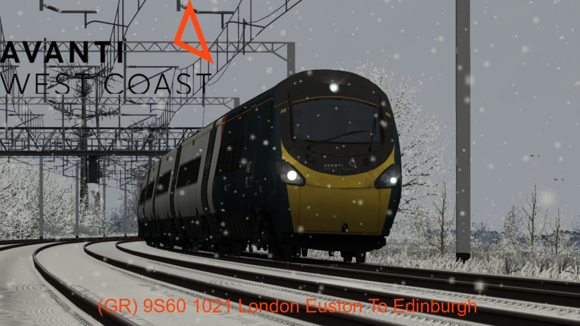 (GR) 9S60 1021 London Euston to Edinburgh Waverley *(Full Run)