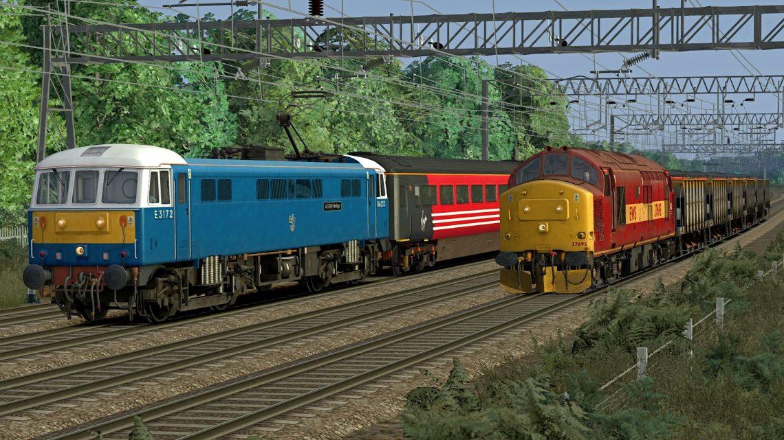 [RS] 86233 – 1S90 1730 London Euston – Glasgow Central (2002)