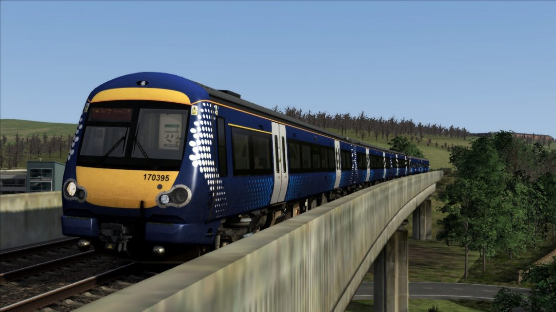 (AT) 2G14- 0809 Glenrothes with Thornton to Edinburgh Waverley