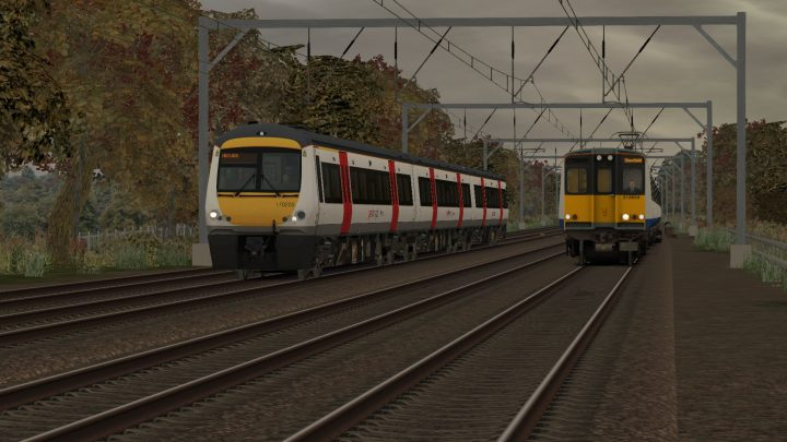 1P46 1700 London Liverpool Street to Norwich