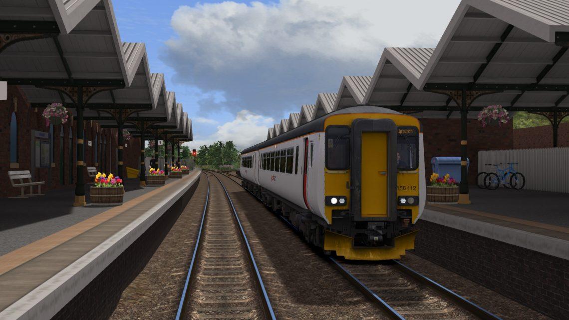 2L79 1550 Peterborough to Ipswich