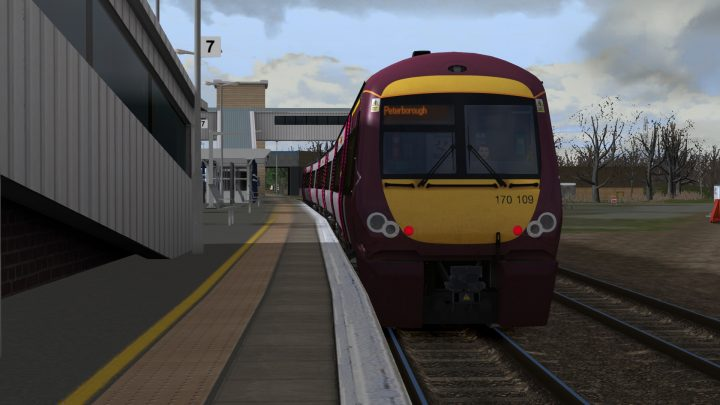 2N45 0800 Cambridge to Peterborough