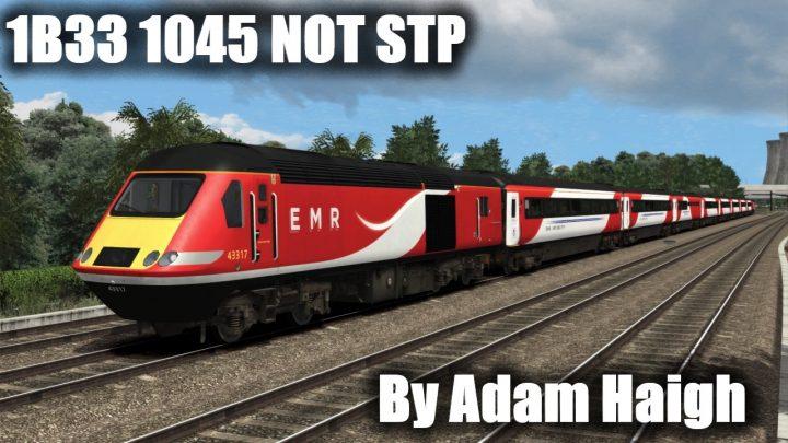 1B33 1045 Nottingham to St Pancras