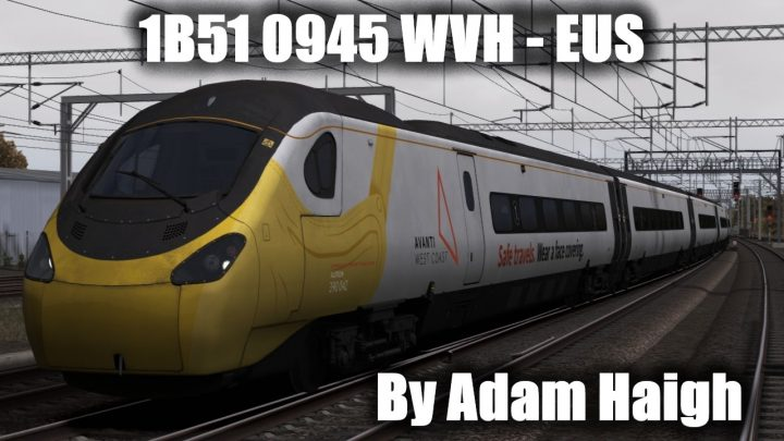 1B51 0945 Wolverhampton to London Euston