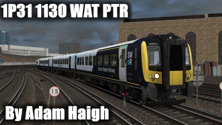 1P31 1130 London Waterloo to Petersfield