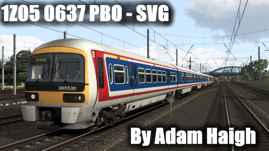 1Z05 0637 Peterborough to Stevenage (Fictional)