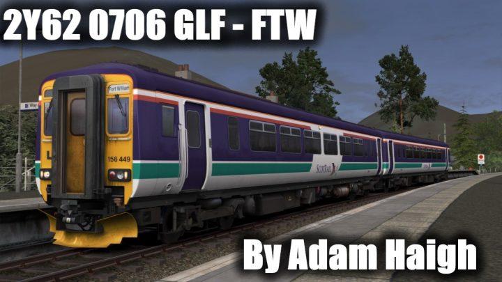 2Y62 0706 Glenfinnan to Fort William