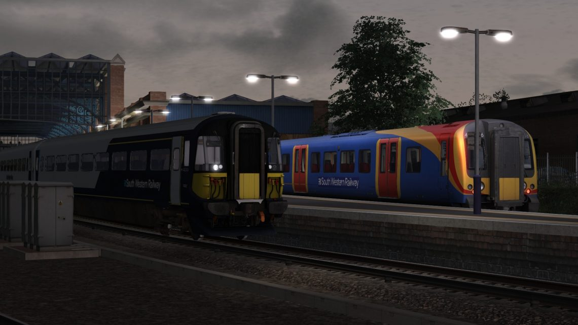 9B90 05:45 Poole to London Waterloo