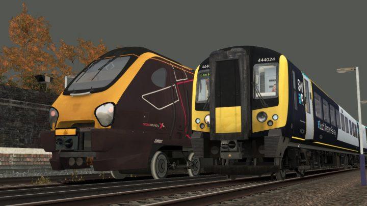 1W56 10:03 Weymouth to London Waterloo