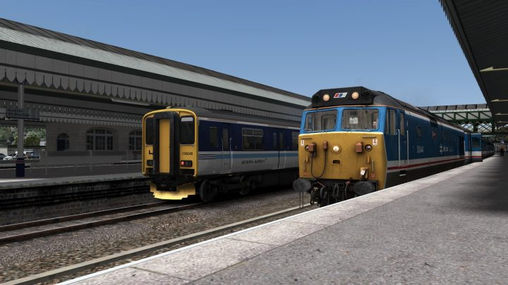 1L52 13:25 Exeter St Davids to London Waterloo