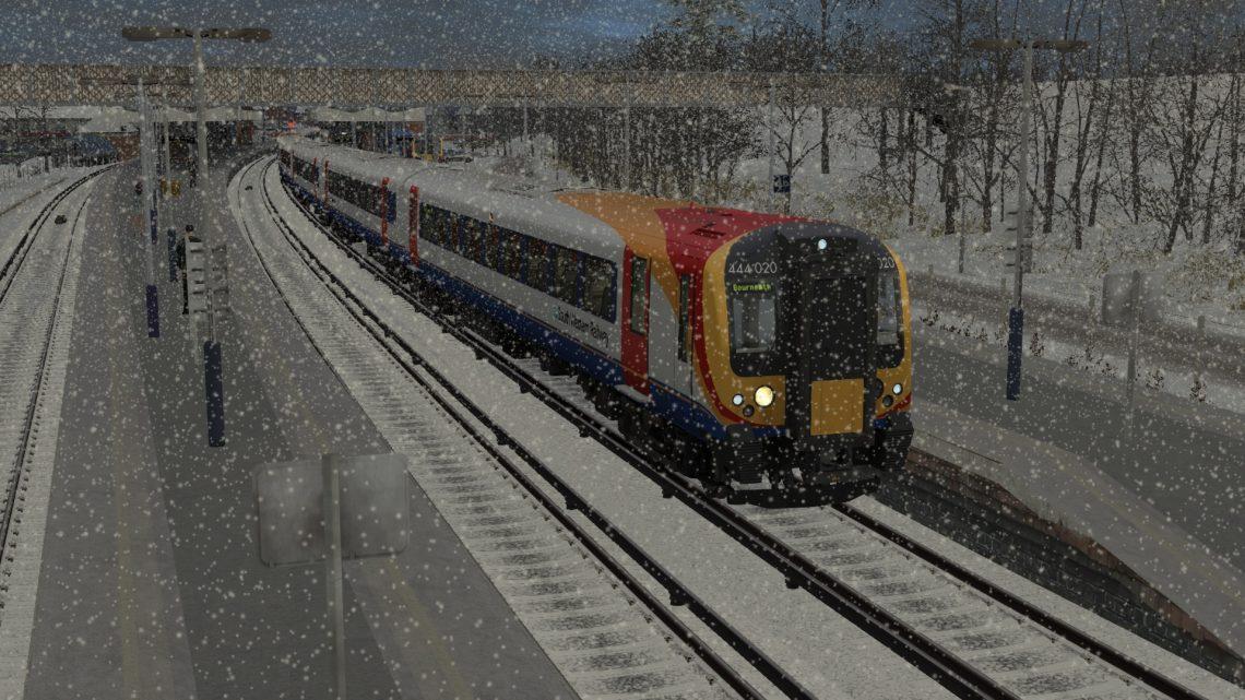 1W59 09:00 London Waterloo to Bournemouth