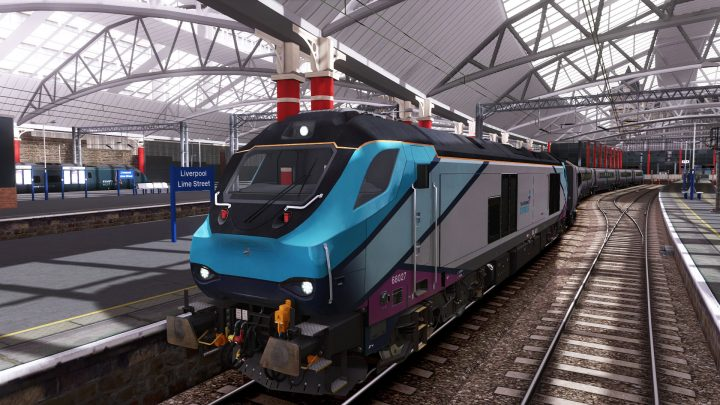 1H54 1253 Liverpool Lime Street to Manchester Airport