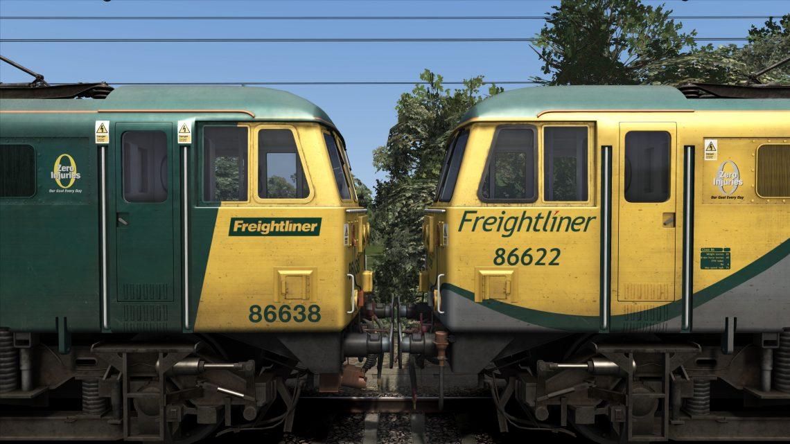 Class 86 Freightliner 'Zero Injuries' Patch