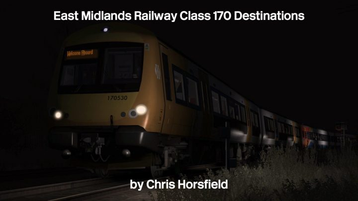 EMR Class 170 Destinations