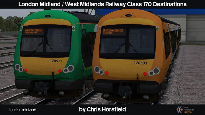 LM/WMR Class 170 Destinations