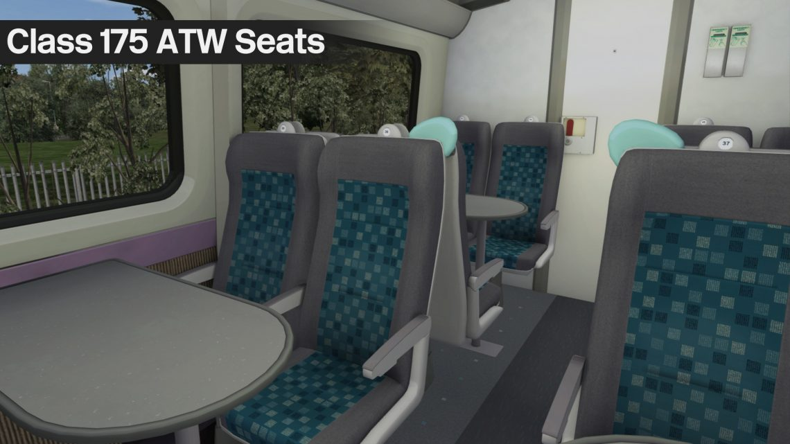 Class 175 Arriva Trains Wales Seats