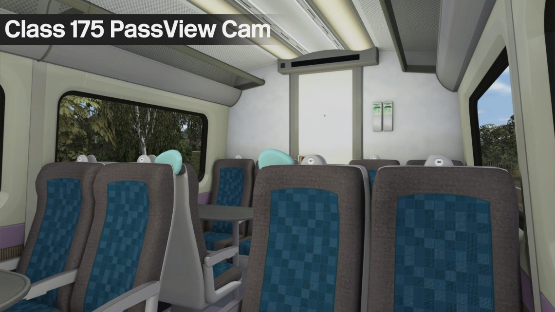 Class 175 Additional PassView Cams