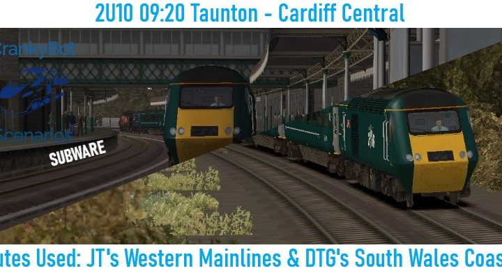 *SUB ONLY* [CB] 2U10 09:20 Taunton – Cardiff Central