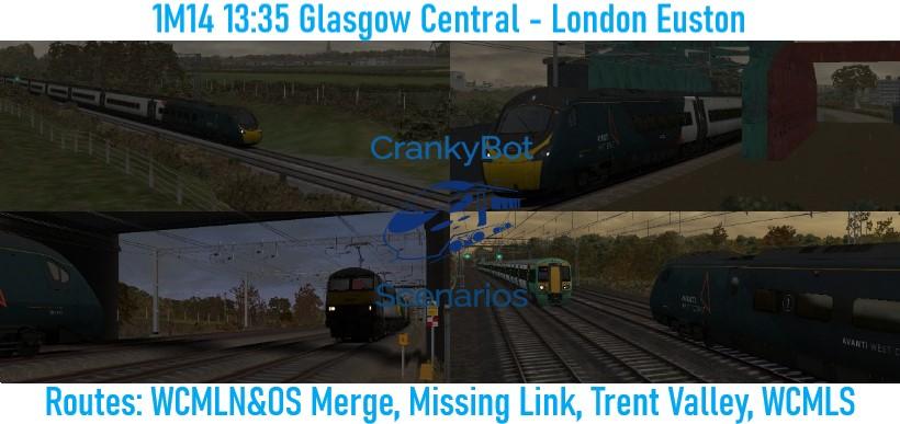 [CB] 1M14 13:35 Glasgow Central – London Euston