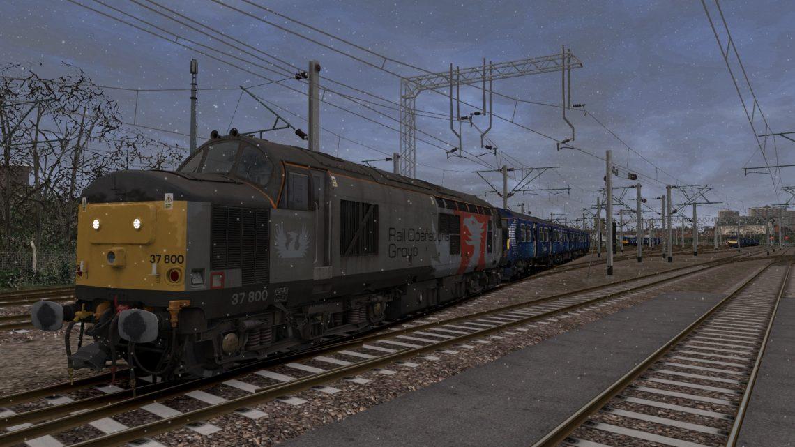 5xxx 1401 Yoker C.S. to Kilmarnock Bonnyton Depot
